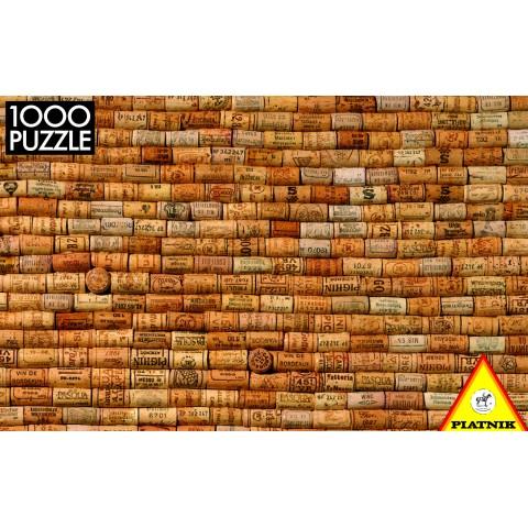 Puzzel 1000 stukjes Wijnkurken Piatnik