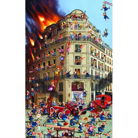 Puzzel 1000 stukjes Brandweer Piatnik