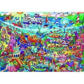 Puzzel 1000 stukjes Magic Sea Heye