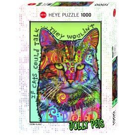 Puzzel 1000 stukjes If Cats Could Talk Heye