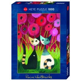 Puzzel 1000 stukjes Poppy Canopy Wachtmeister Heye