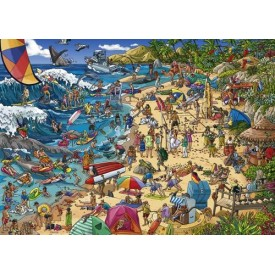 Puzzel 1000 stukjes Seashore Heye