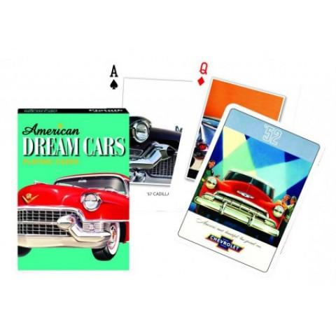 Spel American Dream Cars Speelkaarten - Single Deck Piatnik