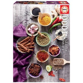 Puzzel 1000 stukjes Assorted Spices Educa