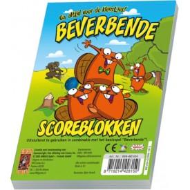 Spel Beverbende Scoreblokken 3 stuks 999 Games