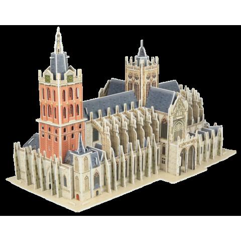 Puzzel 184 stukjes 3D Gebouw - St Jan Den Bosch House of Holland