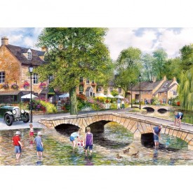 Puzzel 1000 stukjes Bourton on the Water Gibsons