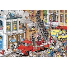 Puzzel 500 stukjes Brand Meester - Jan van Haasteren Restyle Jumbo