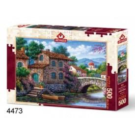 Puzzel 1000 stukjes Amsterdam Canal Cobble Hill