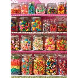 Puzzel 500 stukjes Candy Shelf Cobble Hill