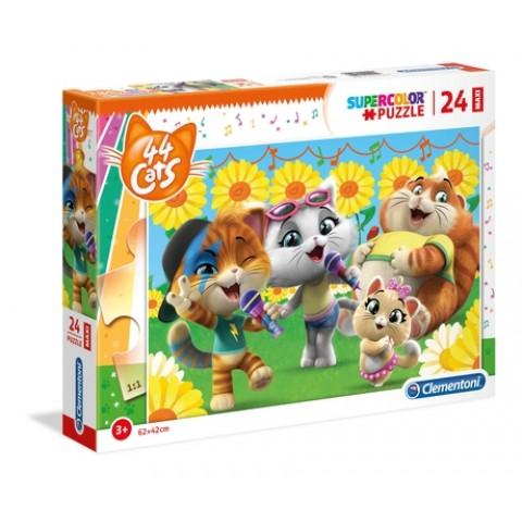 Puzzel 24 stukjes 44 Cats Clementoni