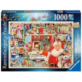 Puzzel 1000 stukjes Christmas is Coming! Ravensburger