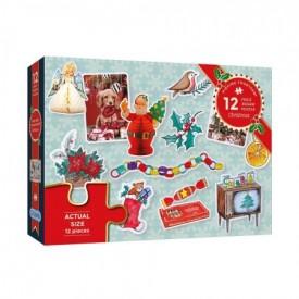 Puzzel 12 stukjes Christmas Gibsons