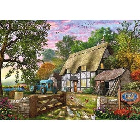 Puzzel 3000 stukjes The Farmer's Cottage Jumbo