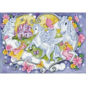 Diamond Painting 66x47 Princess Magic Diamond Dotz