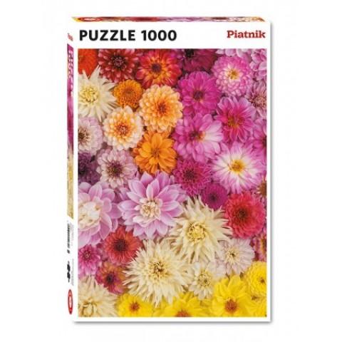 Puzzel 1000 stukjes Dahlias Piatnik