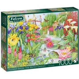 Puzzel 1000 stukjes Flower Show - The Water Garden Falcon