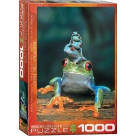 Puzzel 350 stukjes Frog Pile Cobble Hill