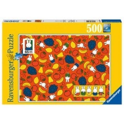 Puzzel 500 stukjes Nijntjes Fruit Ravensburger