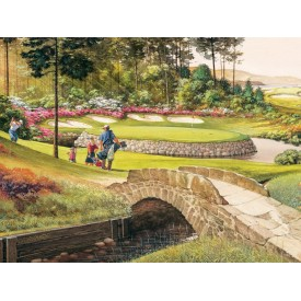 Puzzel 275 stukjes Golf Course Cobble Hill
