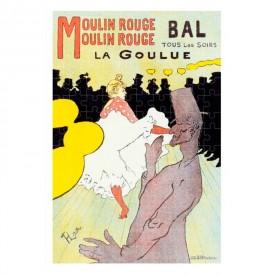 Puzzel 150 stukjes Micropuzzel La Goulue - Henri de Toulouse-Lautrec Londji