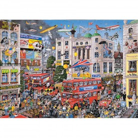 Puzzel 1000 stukjes I Love London Gibsons