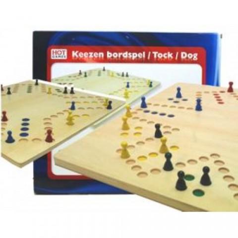 Spel Keezen Bordspel 4+6 Hot Games