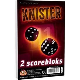 Spel Knister Bloks (Extra Scorebloks) White Goblin Games