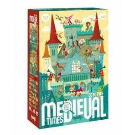 Puzzel 100 stukjes Observation Puzzle - Go to the Medieval Times Londji