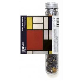 Puzzel 150 stukjes Micropuzzel Composition Piet Mondriaan - Contemporary Art Londji