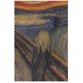 Puzzel 150 stukjes Micropuzzel The Scream Munch - Contemporary Art Londji