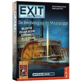 Spel EXIT - De Beroving op de Mississippi 999 Games