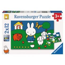 Puzzel 6, 9, 12 & 16 stukjes Nijntje Ravensburger