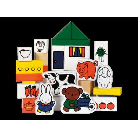 Spel Nijntje Blokken Boerderij Bambolino Toys