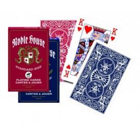 Spel Noble House Speelkaarten (Assorti geleverd rood of blauw) Piatnik