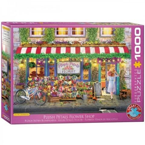 Puzzel 1000 stukjes Plush Petals Flower Shop - Paul Normand Eurographics