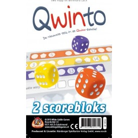 Spel Qwinto Scorebloks White Goblin Games