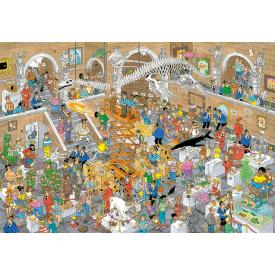 Puzzel 3000 stukjes Rariteitenkabinet - Jan van Haasteren Jumbo