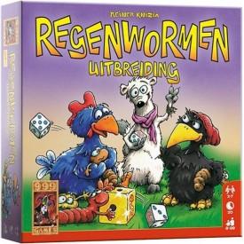 Spel Regenwormen Uitbreiding 999 Games