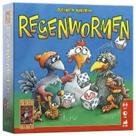 Spel Regenwormen 999 Games