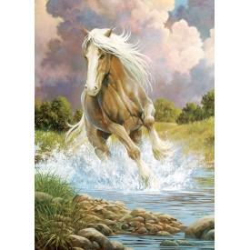 Puzzel 1000 stukjes River Horse Cobble Hill