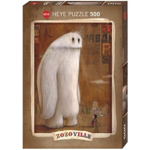 Puzzel 500 stukjes Sit! Zozoville Heye