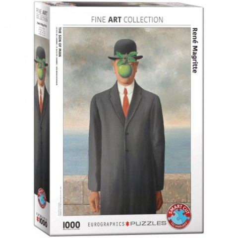 Puzzel 1000 stukjes The Son of Man - Rene Magritte Eurographics