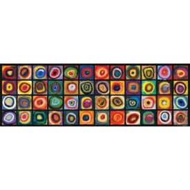 Puzzel 1000 stukjes Color Study of Squares - Panorama Eurographics