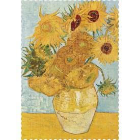 Puzzel 150 stukjes Micropuzzel McPz Sunflowers Londji