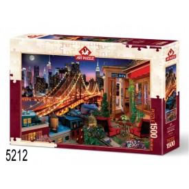 Puzzel 150 stukjes Micropuzzel Terrace of a Café Londji