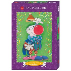 Puzzel 500 stukjes Thank You! Mordillo Heye