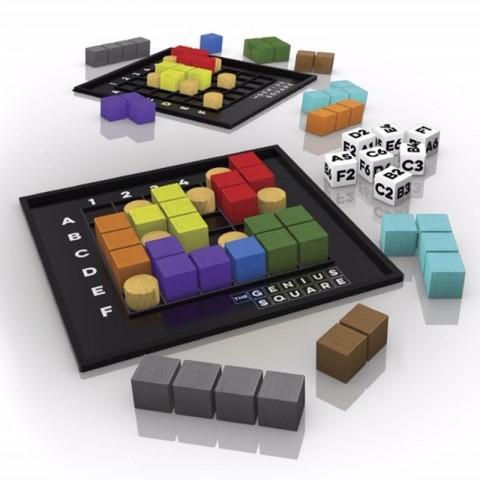Spel The Genius Square Tucker's Fun Factory