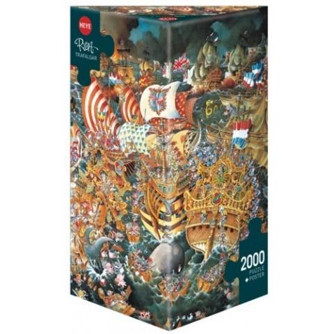Puzzel 2000 stukjes Trafalgar Heye