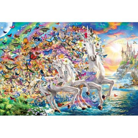 Puzzel 2000 stukjes Unicorn Fantasy Eurographics